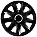 Kołpaki samochodowe Drift - czarny, 16 cali
