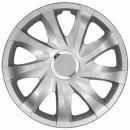 Kołpaki samochodowe Drift - srebrny, 15 cali